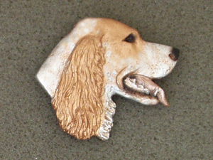 English Setter - Brooche Large Head