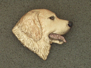 Golden Retriever - Brooche Large Head