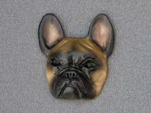 French Bulldog - Brooche Large Head