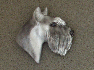 Schnauzer - Brooche Large Head