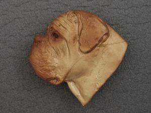 Dogue de Bordeaux - Brooche Large Head