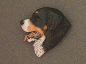 Bernese Mountain Dog - Brooche Large Head