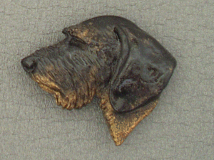 Dachshund Wire - Brooche Large Head