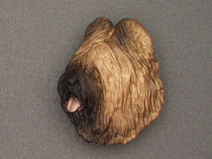 Briard - Brooche Large Head