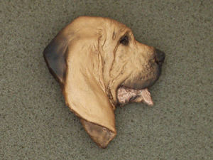 Bloodhound - Brooche Large Head