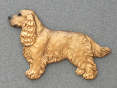 English Cocker Spaniel - Brooche Figure