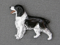 English Springer Spaniel - Brooche Figure