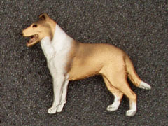 Collie Smooth - Brooche Figure