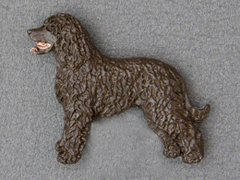 Irish Water Spaniel - Brooche Figure