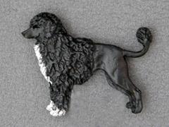 Portuguese Water Dog - Brooche Figure