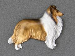 Sheltie - Brooche Figure