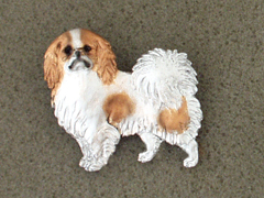 Japanese Chin - Brooche Figure