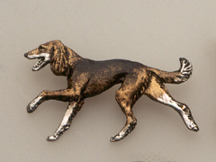 Saluki - Brooche Figure