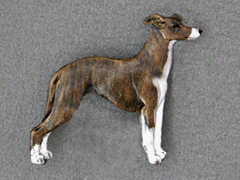Whippet - Brooche Figure