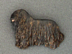 Bergamasco - Brooche Figure