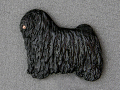 Puli - Brooche Figure