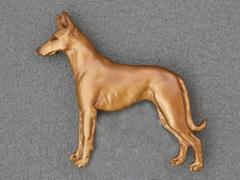 Pharaoh Hound - Brooche Figure