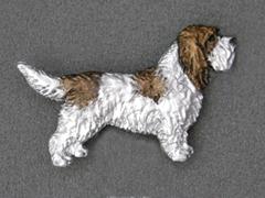 Basset Griffon Venden - Brooche Figure