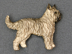 Berger de Picard - Brooche Figure
