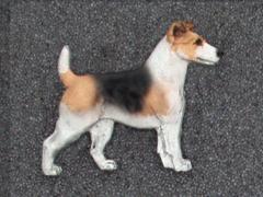 Jack Russell Terrier - Brooche Figure