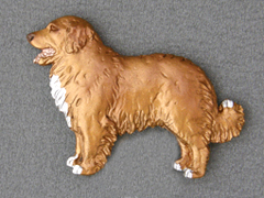 Nova Scotia Duck Tolling Retriever - Brooche Figure