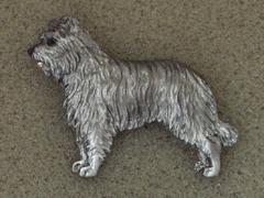 Pyrenean Shepherd Dog - Brooche Figure