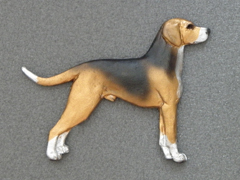 Finnish Hound - Brooche Figure