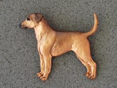 German Pinscher - Brooche Figure