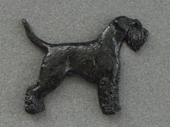 Schnauzer - Brooche Figure