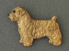 Glen of Imaal Terrier - Brooche Figure