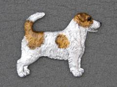 Jack Russell Terrier Broken - Brooche Figure