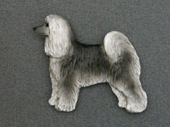 Chinese Crested Dog - Powderpuff  - Brooche Figure