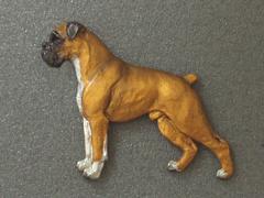 Boxer - Brooche Figure