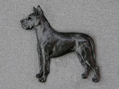 Great Dane - Brooche Figure