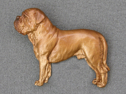 Dogue de Bordeaux - Brooche Figure