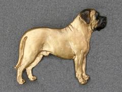 Mastiff - Brooche Figure