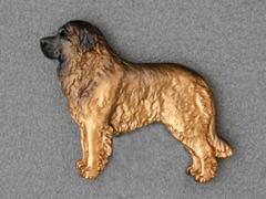 Leonberger - Brooche Figure