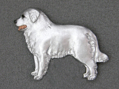 Kuvasz - Brooche Figure