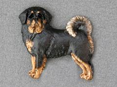 Tibetan Mastiff - Brooche Figure