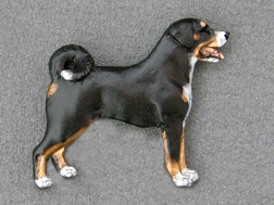 Appenzell Mountain Dog - Brooche Figure