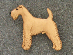 Irish Terrier - Brooche Figure