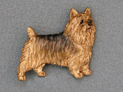Australian Terrier - Brooche Figure