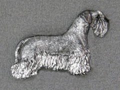 Bohemian Terrier - Brooche Figure