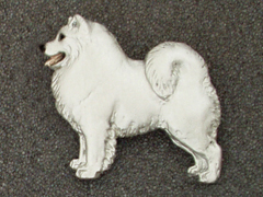 Samoyed - Brooche Figure