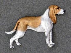 Swiss Hound - Brooche Figure