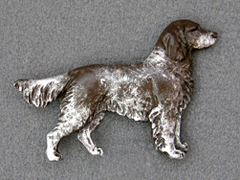 Münsterländer Small - Brooche Figure