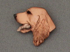 Irish Setter - Brooche Small Head