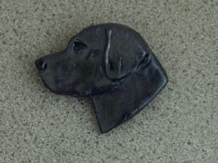Labrador Retriever - Brooche Small Head