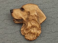 English Cocker Spaniel - Brooche Small Head
