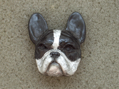 French Bulldog - Brooche Small Head